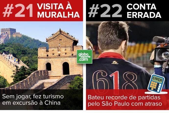 Cartela Curiosidades Ceni 14 (Foto: GloboEsporte.com)