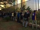Polícia realiza operação para coibir 'badernas' em shopping de MS