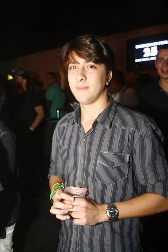 Nilo Faria, namorado de Anitta  (Foto: Rogério Domingues / Rogério Produções)