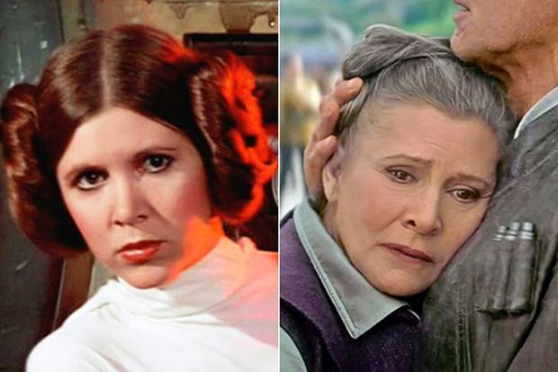 Carrie Fisher como princesa Leia (Foto: Divulgação )