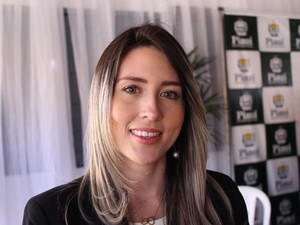 Delegada Anamelka Cadena será titular da nova delegacia  (Foto: Beto Marques/G1)
