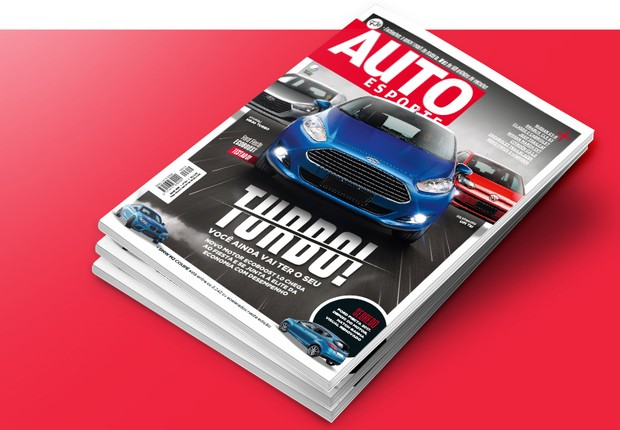 Motores turbo na Autoesporte de julho (Foto: Autoesporte)