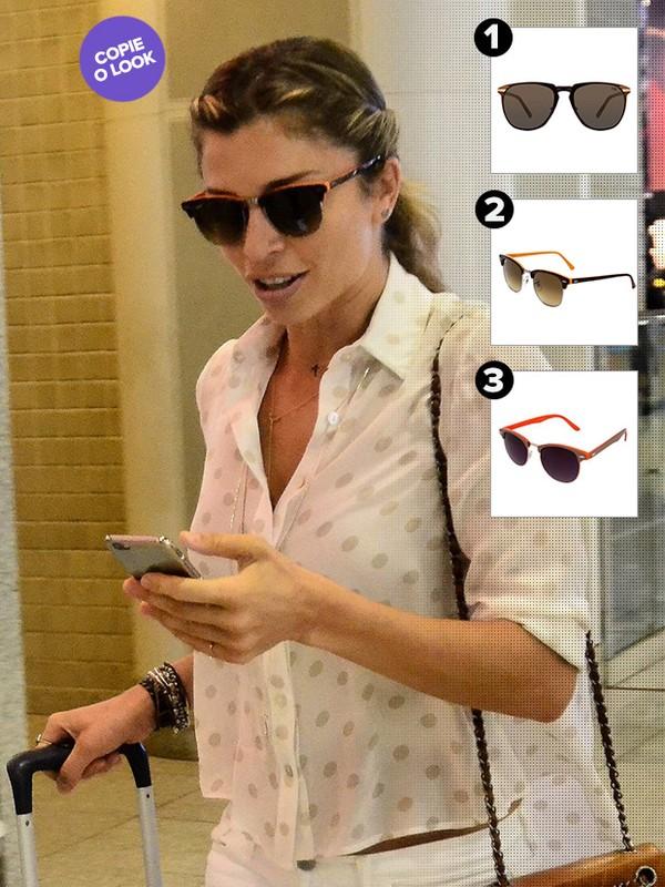 078ad1bac7647 Ego - Inspire-se nos óculos escuros de 10 famosas estilosas para o ...