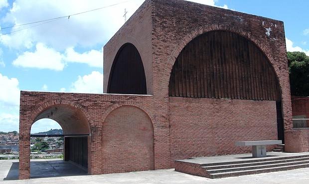Igreja dos Alagados (Foto: Henrique Mendes/G1)