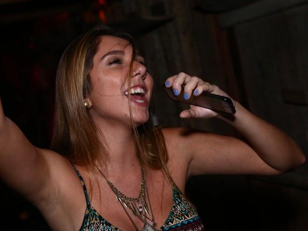 Carolina Portaluppi em festa na Zona Sul do Rio (Foto: Raphael Mesquita/ Divulgação)