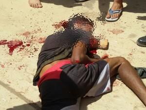´Vídeo mostra jovem sendo linchado depois de furtar bicicleta no Maranhão (Foto: Reprodução / G1)