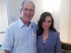 Ex-presidente George W. Bush se apresenta para ser jurado no Texas