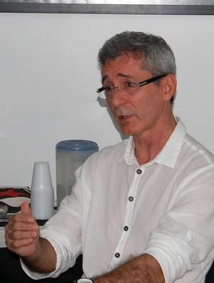 Nelson Lira, presidente do Botafogo-PB (Foto: Larissa Keren/Globoesporte.com)