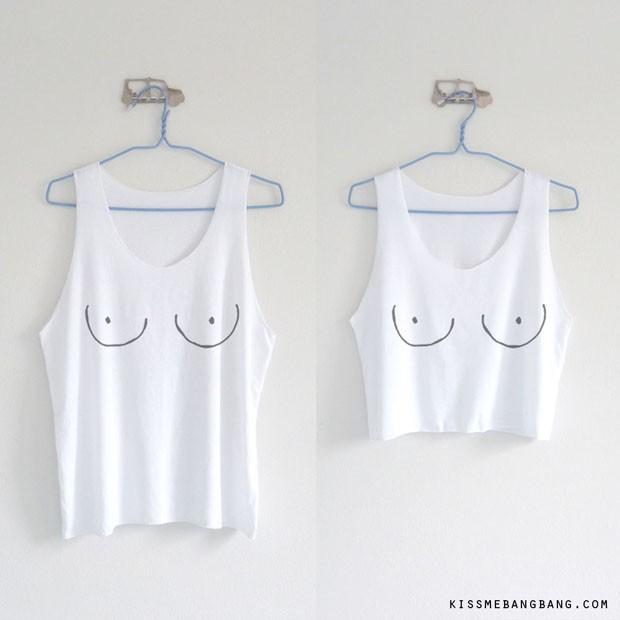 Liberte os peitos: 10 itens para aderir a nova moda  (Foto: Divulgação)