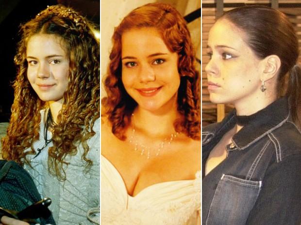 Leandra Leal em diversos personagens (Foto: CEDOC / TV Globo)
