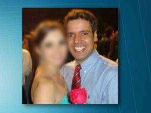Thiago Cardoso Lopes, de 28 anos, que tinha casamento marcado e foi morto na quinta-feira (2) (Foto: Reprodução/TV Globo)