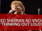 Ed Sheeran lança filme sobre show e lembra fãs do Brasil: 'Ensurdecedores'