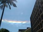 Fenômeno no céu chama a atenção de moradores de Foz do Iguaçu e região