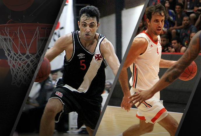 CARROSSEL - basquete Flamengo x Vasco (Foto: Editoria de Arte)