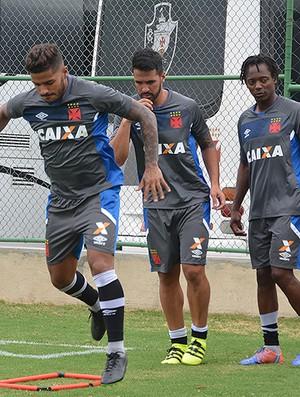 Henrique Luan Andrezinho Vasco (Foto: Matheus Alves / Vasco)