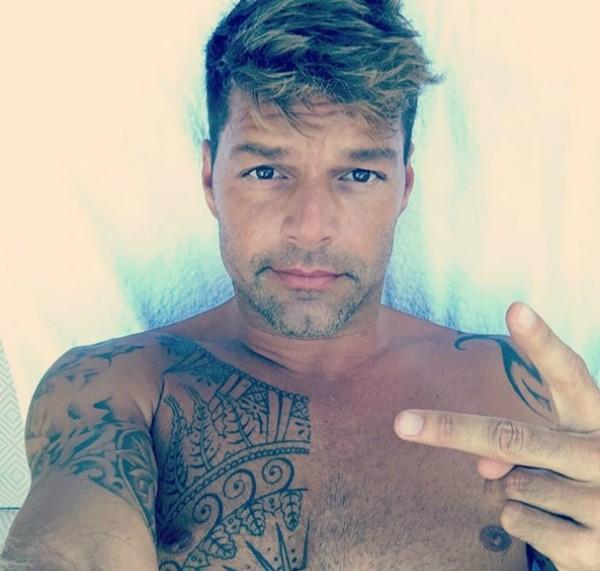 Ricky Martin (Foto: Reprodução Instagram)
