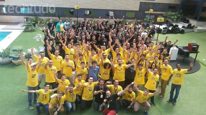 Hackathon Globo 2016 reúne 50 participantes  (Foto: Isabela Giantomaso/TechTudo)