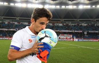 """Após sucesso no exterior, Marcelinho  quer """"demonstrar seu valor"""" no Avaí"""