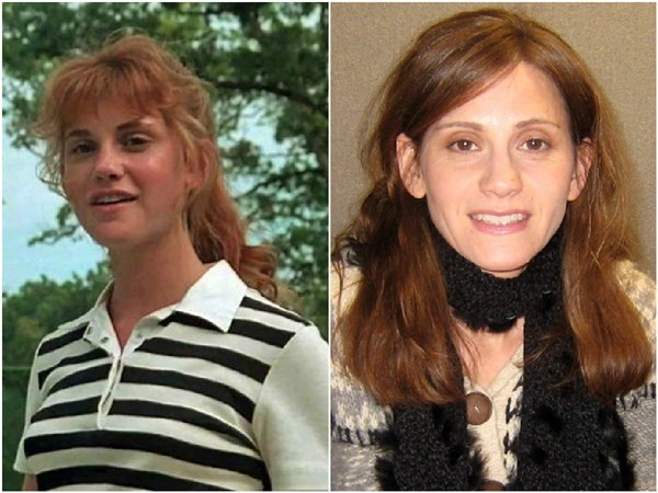 Kerri Green em 1986 e em 2014 (Foto: Divulgação/Getty Images)