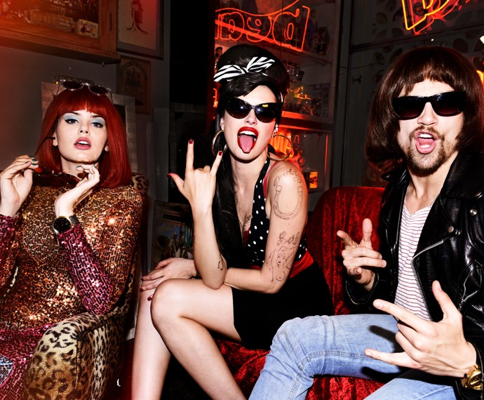 Angel, Giovanna e Leo brilham em ensaio fotográfico (Foto: Márcio Del Nero/ TV Globo)