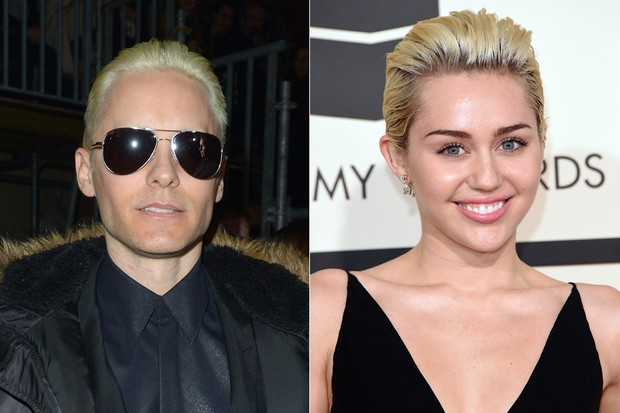 Jared Leto / Miley Cyrus (Foto: Agência Getty Images / AFP)