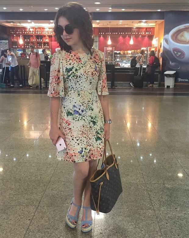 Klara Castanho no Aeroporto de Congonhas (Foto: Reprodução /  Instagram)