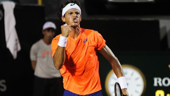 Feijão, João Souza, tênis, Brasil Open (Foto: Nestor J. Beremblum / Ag. Estado)