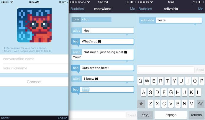 Cryptocat permite conversar com privacidade (Foto: Divulgação/AppStore)