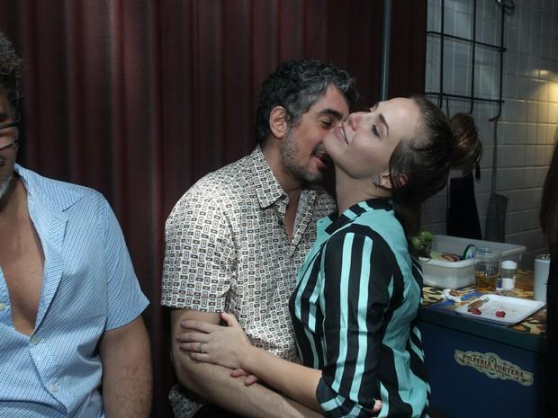 Michel Melamed e Letícia Colin em festa na Zona Oeste do Rio (Foto: Marcello Sá Barretto/ Ag. News)