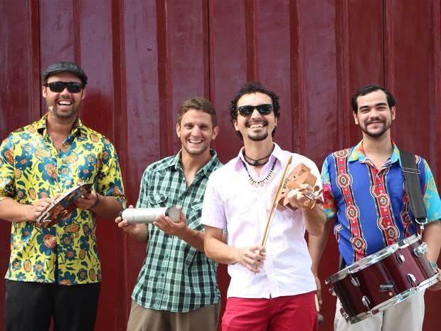 Quarteto Olinda faz show especial de dez anos (Foto: Divulgação)