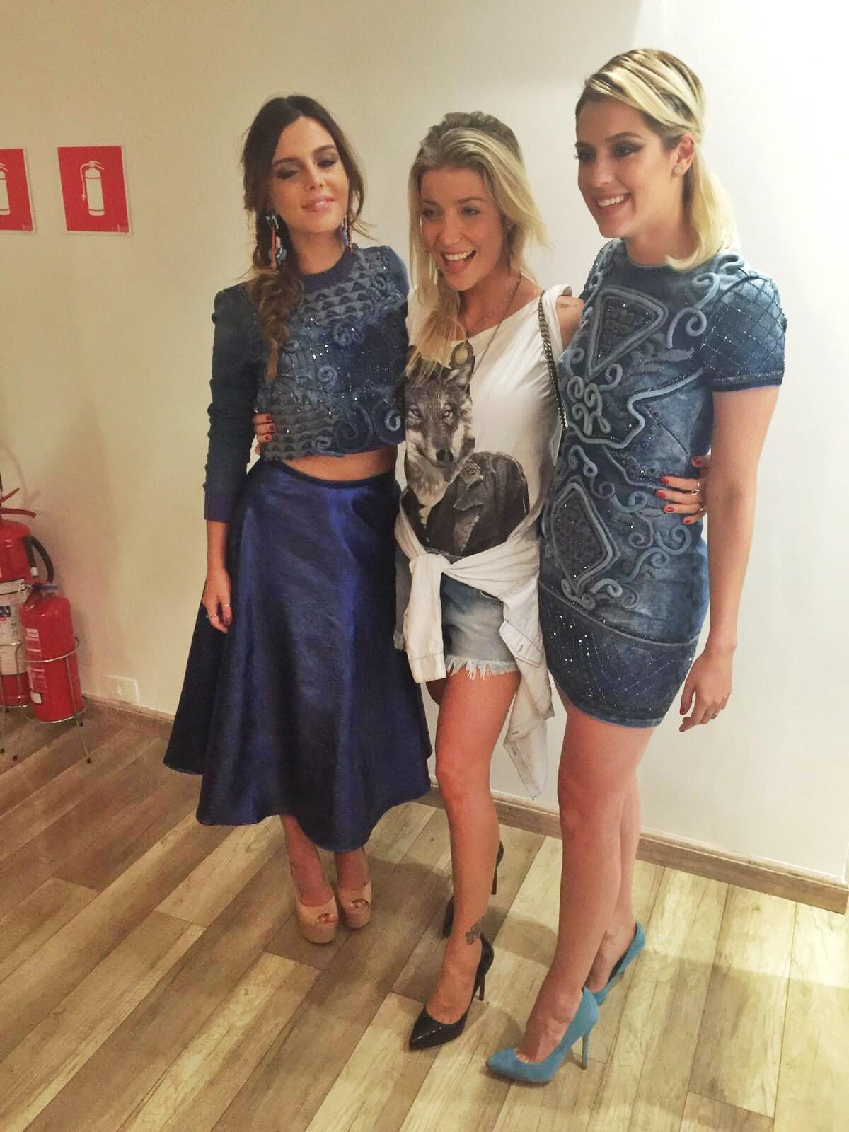 Giovanna Lancellotti, Luiza Possi e Sophia Abrahão marcaram presença em evento da Fabiana Milazzo nesta quinta-feira (25.02) em São Paulo (Foto: Vogue Brasil)
