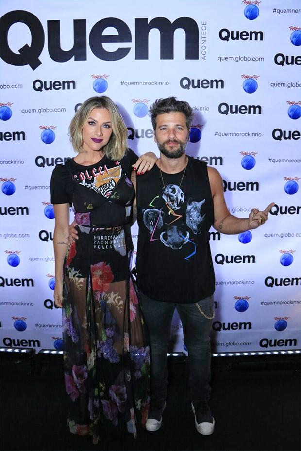 Bruno Gagliasso e Giovanna Ewbank (Foto: Marcos Rosa/  Ed. Globo)