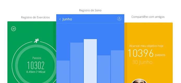 Todos os dados podem ser visualizados no app para iOS e Android (Foto: Divulgação)