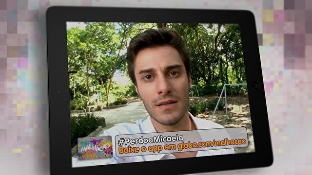 #PerdoaMicaela (Foto: Malhação / TV Globo)