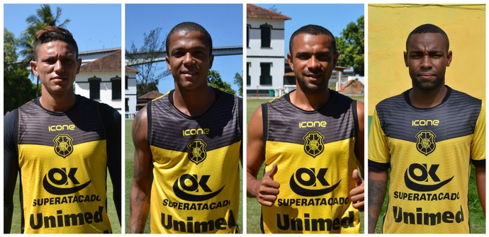 Rio Branco-ES quer Harrison, Erick, David e Dedé na Copa Espírito Santo (Foto: Sidney Magno Novo/GloboEsporte.com)