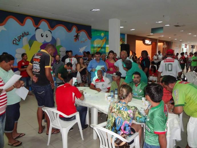 Salgueiro, Sócio (Foto: Divulgação/Salgueiro Atlético Clube)