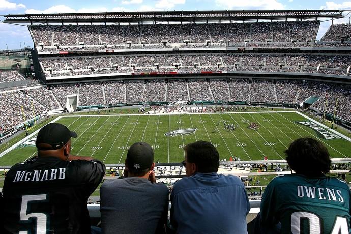 Lincoln Financial Field, Philadelphia Eagles (Foto: Getty Images)