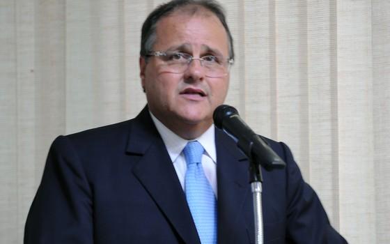 O atual ministro da secretaria de Governo, Geddel Vieira Lima (Foto: Roosewelt Pinheiro/ABr)