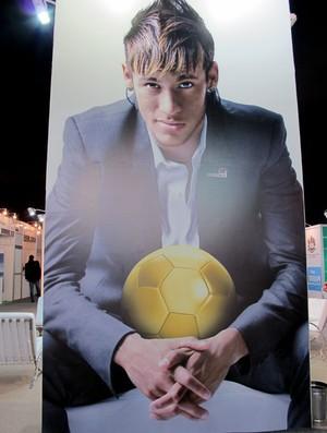 Neymar - soccerex - boleirama (Foto: Cíntia Barlem / Globoesporte.com)