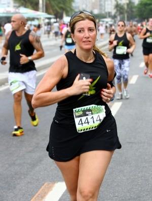 Ana Blois sincronizado euatleta (Foto: Arquivo Pessoal)