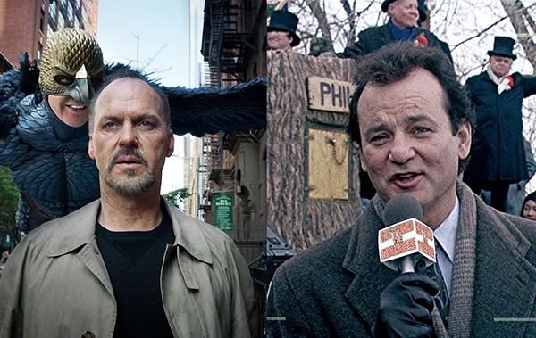 Bill Murray e Michael Keaton (Foto: Reprodução)