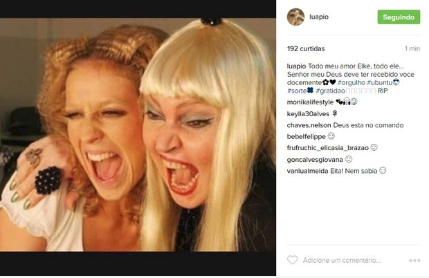 Luana Piovani e Elke (Foto: Reprodução / Instagram)