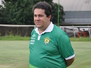 Fernando Marchiori, treinador do Cuiabá (Foto: Christian Guimarães)