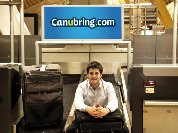 Sebastian Cussen, fundador da rede social Canubring (Foto: Divulgação)