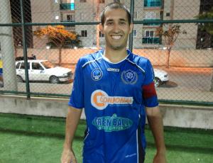 Pedro Bassul,ala do Vitória 7/Vitória-ES (Foto: Richard Pinheiro)