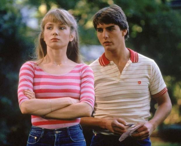 Tom Cruise e Rebecca De Mornay em 1983 (Foto: Reprodução)
