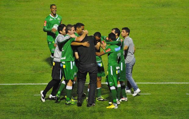 Bruno Rangel foi destaque com dois gols marcados. (Foto: Lucas Magalhães)