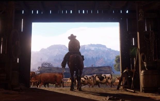 'Red Dead Redemption 2' ganha primeiro trailer. Jogo chega no final de 2017 (Foto: Reprodução/YouTube/Rockstar Games)