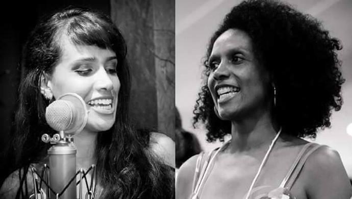 """A vocalista da Gringo's, Milena Castilho, e a mãe Fátima: """"Super parecidas"""" (Foto: Arquivo pessoal)"""