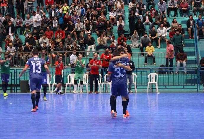 Sorocaba Floripa Liga Nacional de Futsal (Foto: Murilo Wolff/Divulgação)
